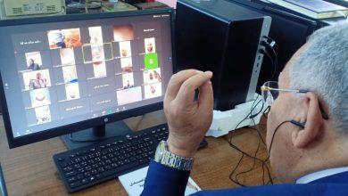 Photo of بالصور :  اليوم الأول لفاعليات الدورة الأولى  للتدريب عن بعد