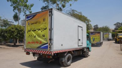 Photo of بالفيديو والصور :  انطلاق سيارات توزيع لحوم الأضاحي   إلى محافظات : (الإسكندرية – جنوب سيناء – الدقهلية – كفر الشيخ)