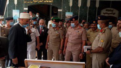 صورة الأوقاف :  المجلس الأعلى للشئون الإسلامية   يشارك بمعرض الكتاب بأكاديمية ناصر العسكرية العليا بالدقي