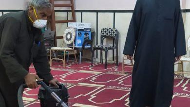 صورة بالصور :  مديرية أوقاف أسيوط  تواصل حملتها في نظافة وتعقيم المساجد التابعة لها
